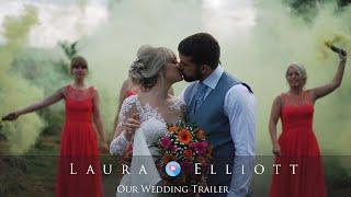 Laura & Elliot Wedding Film at Southdowns Manor - Chris Spice Films
