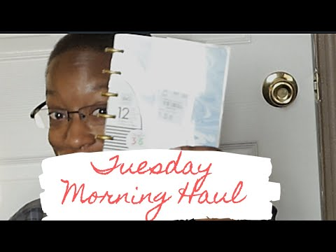 Tuesday Morning Haul |Happy Planner Finds|April 2019| K René
