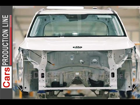 KIA MOTORS manufacturing plant in India