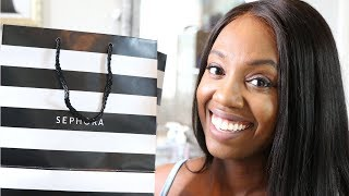 Sephora Haul & Try On | Tips for Shopping at High End Makeup Stores