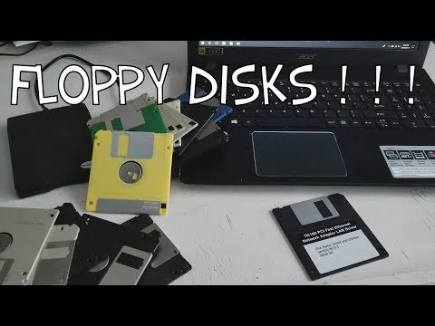 Using Floppy Disks in 2017