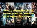 HOW TO DOWNLOD FULL HD MOVIES ENGLISH, HINDI 0N MoviesCounter  TECH ZONE