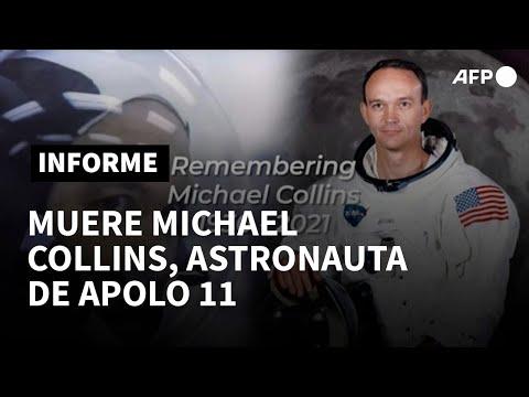 Muere Michael Collins, astronauta de la misión Apolo 11   AFP