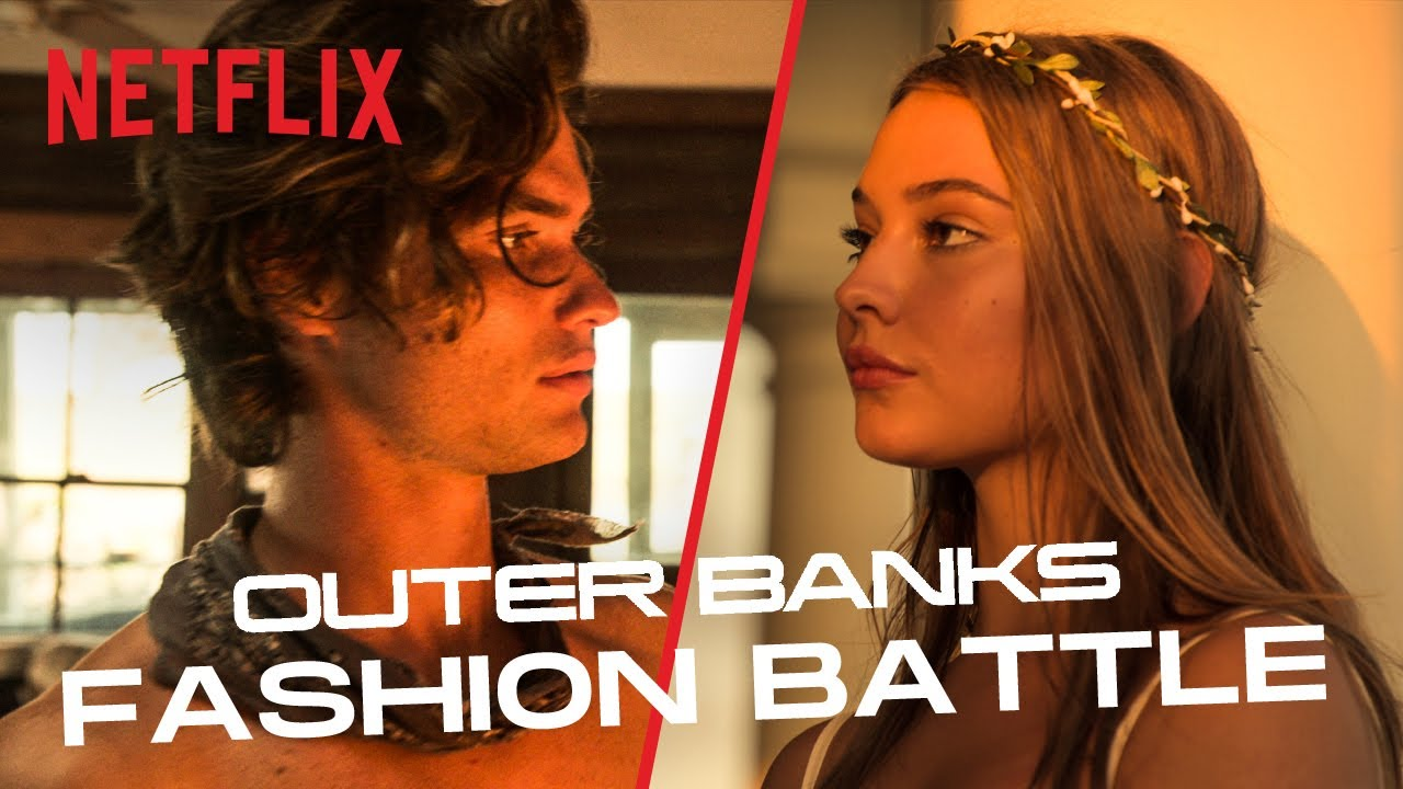 Outer Banks Fashion Battle | Netflix
