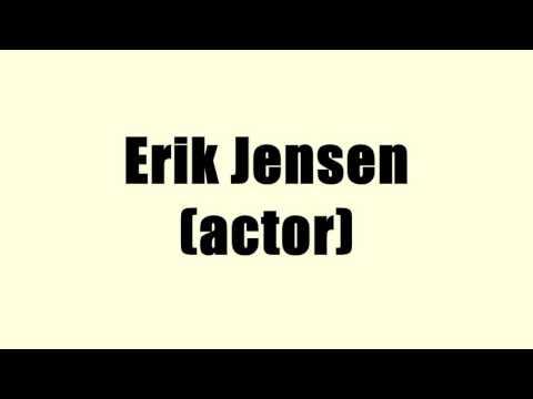 Erik Jensen (actor)