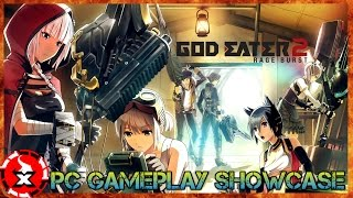 God Eater 2 Rage Burst Gameplay - PC GAMEPLAY & PC Settings Showcase