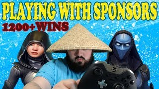 🔴Playing With Sponsors (READ DESCRIPTION) Fortnite live stream xbox one