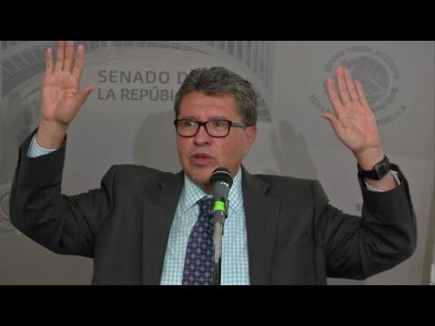 Conferencia del Sen. Ricardo Monreal Ávila