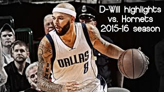 Deron Williams 15 pts & 5 ast vs. Hornets (NBA RS 2015/2016) - INCREDIBLE!