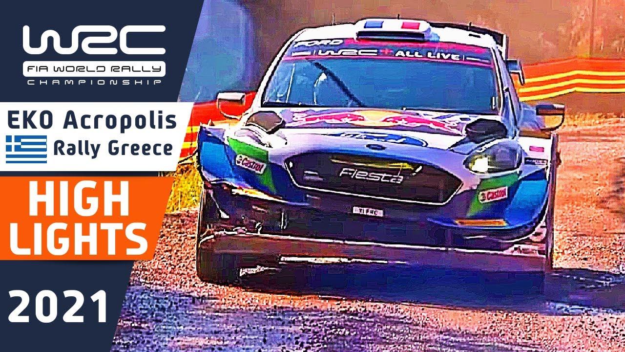 WRC Rally Highlights : Day 2 Morning : EKO Acropolis Rally Greece 2021: SS 7 Pavliani, SS8 Gravia