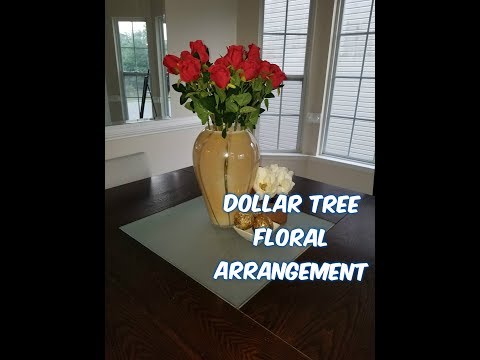 Dollar Tree Floral Arrangement