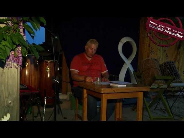 Dominik Schmeller liest seine Kurzgeschichte