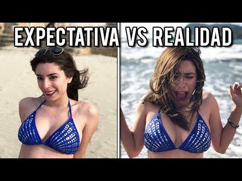LA PLAYA: EXPECTATIVA VS REALIDAD | Lyna Vlogs