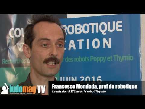 La mission R2T2 avec le robot Thymio