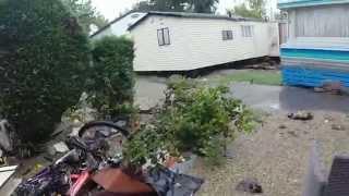 Camping du Pylone Floods October 2015
