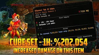 4x Gold Crafting for 1H: %202,054 Increased Damage | Drakensang Online