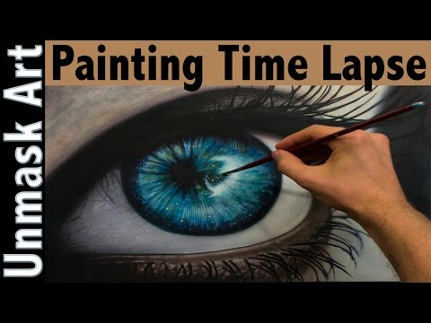Painting Time Lapse | Universal Vision | Original Oil Painting