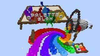 КРАСОЧНЫЙ БУМ В МАЙНКРАФТЕ! Palette Slam Minecraft Map