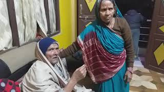 Very Old Couple Wishing Happy New Year 2020