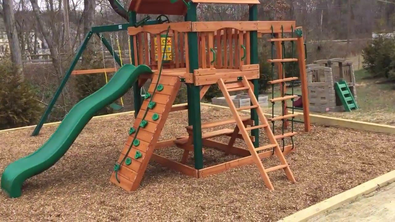 Gorilla Navigator Swing Set Install Maryland Swing Set Paradise