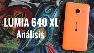 Microsoft Lumia 640 XL, análisis en español