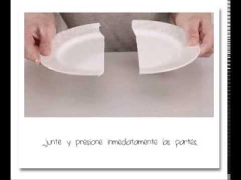 c mo reparar un plato de porcelana uhu porcelain