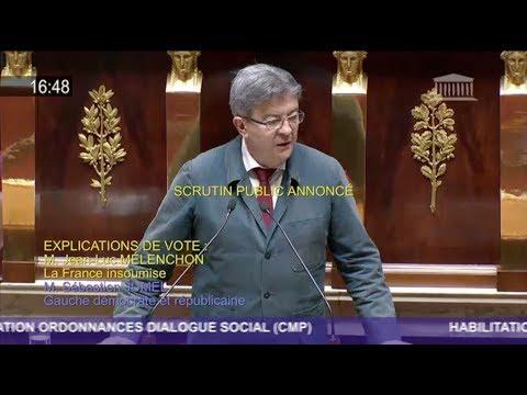 «VOUS N'EN AVEZ PAS FINI AVEC NOUS !» - Jean-Luc Mélenchon au gouvernement