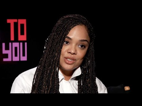Tessa Thompson talks about using her White Voice in Hollywood w Lakeith Stanfield