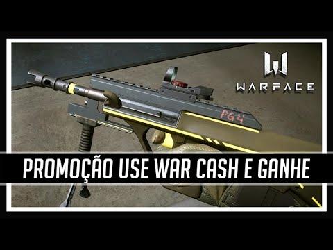 Warface Promoção USE WAR CASH E GANHE