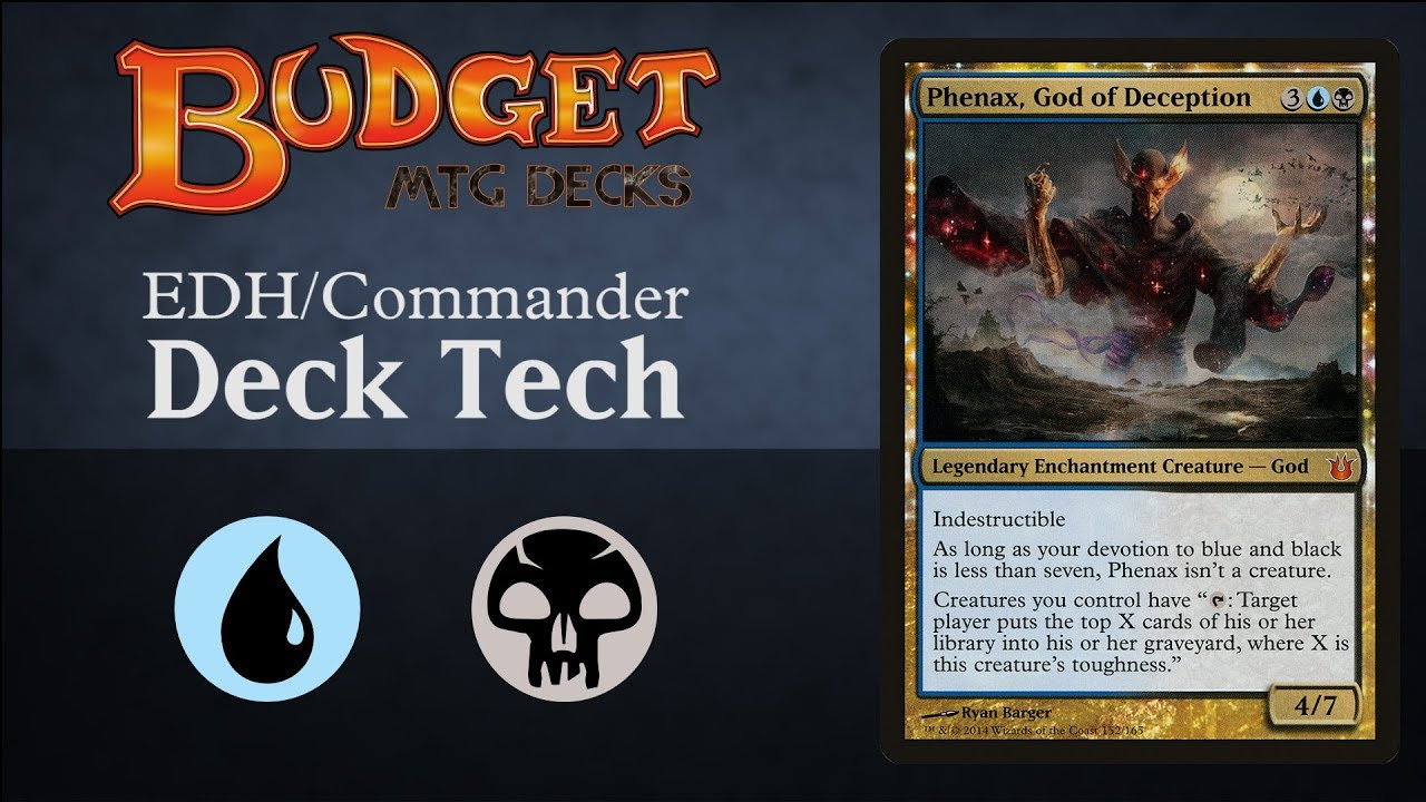 Budget Phenax, God of Deception - EDH / Commander MILL