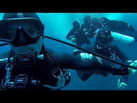 Epic Sidemount video with Steve Martin Gozo 2014