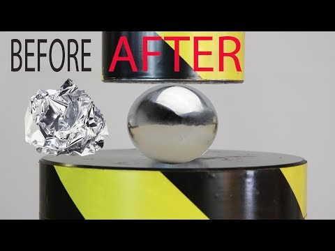 Mirror-Polished Japanese Foil Ball Challenge! What's Inside?