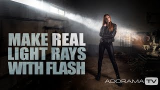 Make Real Rays of Light with Flash: Take and Make Great Photography with Gavin Hoey