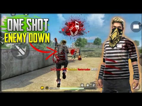 ONE SHOT KILLING CHALLENGE || HEADSHOT KILLING MONTAGE || FREE FIRE BATTLEGROUND