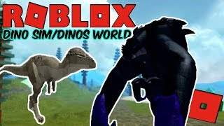 Roblox Dino Sim/Dinos World - Brand New Pachy! + Random PVP Gameplay!