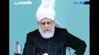 Проповедь Хазрата Мирзы Масрура Ахмада (15-10-10) часть 3