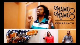 Namo Namo (Kedarnath Cover) | Amit Trivedi | Sushant Rajput - Aks & Lakshmi ft. Sanchit Malhotra