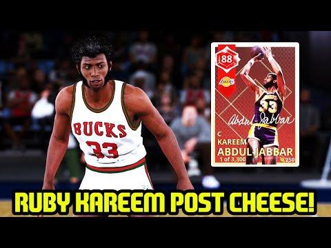 RUBY KAREEM ABDUL-JABBAR! #KAREEMDAY NBA 2K18 MYTEAM GAMEPLAY!