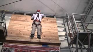 Видеообзор учебных занятий по промышленному альпинизму