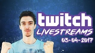 TWITCH LIVESTREAMS 03-04-2017 - Football Manager 2017 / FIFA 17