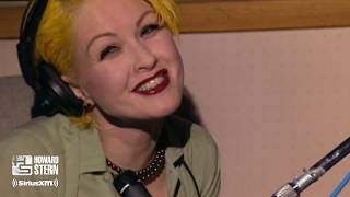 """Cyndi Lauper """"True Colors"""" Live on the Howard Stern Show (1995)"""