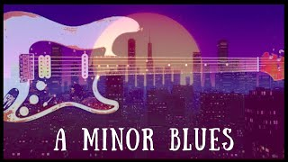 Trip Hop Style Blues Guitar Backing Track - A Minor