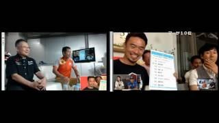 横溝チャンネルの「横溝直輝の全開.TV 」と「脇阪寿一の言いたい放題」のニコ生による中継