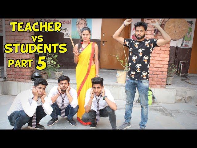 TEACHER VS STUDENTS PART 5 | BakLol Video |