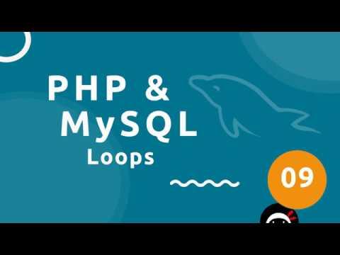 PHP Tutorial (& MySQL) #9 - Loops thumbnail