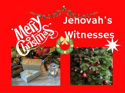 Jehovah Witness Christmas.Merry Christmas Jehovah S Witnesses Youtube