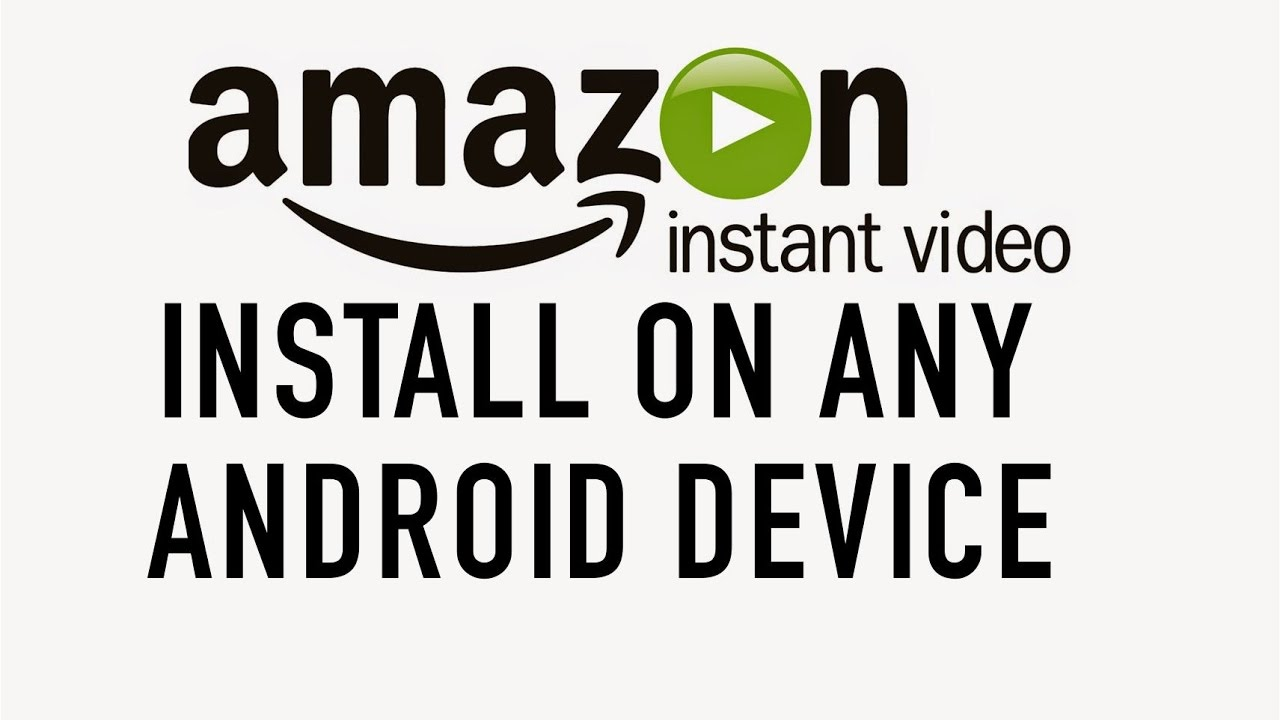 download amazon video app android