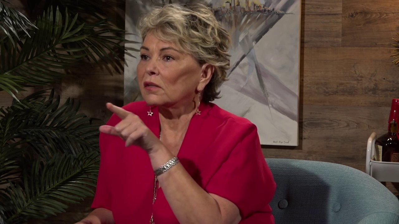 Queen Latifah Fakes Stunning roseanne barr - roseanne barr on weed, running for president, and