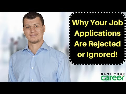 Job Search: Why Your Job Applications Are Rejected or Ignored!