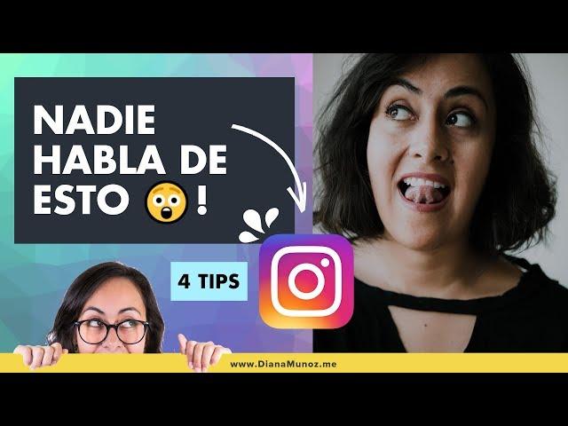 💥 4 Tips que Necesitas Saber para Crear Contenido de Alta Calidad en Instagram | Diana Muñoz